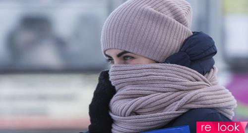 Зима: время носить теплый шарф!