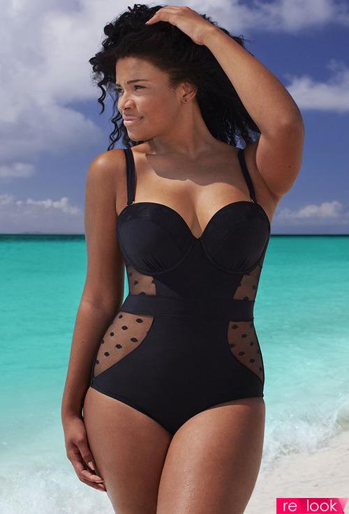 Секреты пляжной моды для полной фигуры