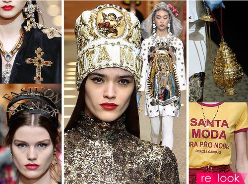 Ничего святого – новая коллекция Dolce & Gabbana FW18-19