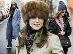 Как подобрать стильный головной убор к зимней верхней одежде?