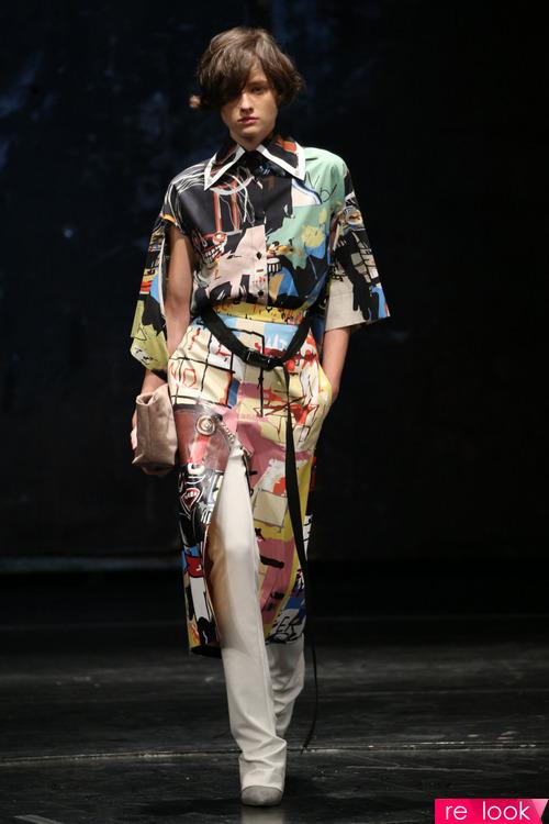 Тренд моды 2018: платье с брюками или шортами