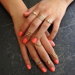 Какие кольца в моде и как их носить?