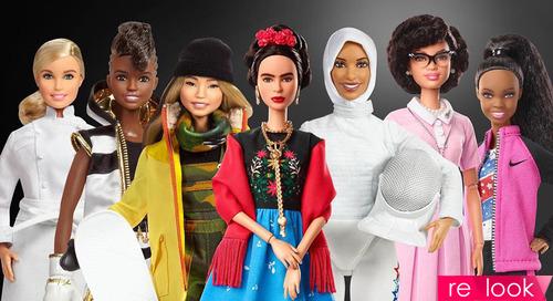Вдохновляющие женщины и Героини - новые образы кукол Барби
