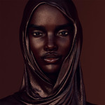 Темнокожая модель Шуду: реальная девушка или фантом?