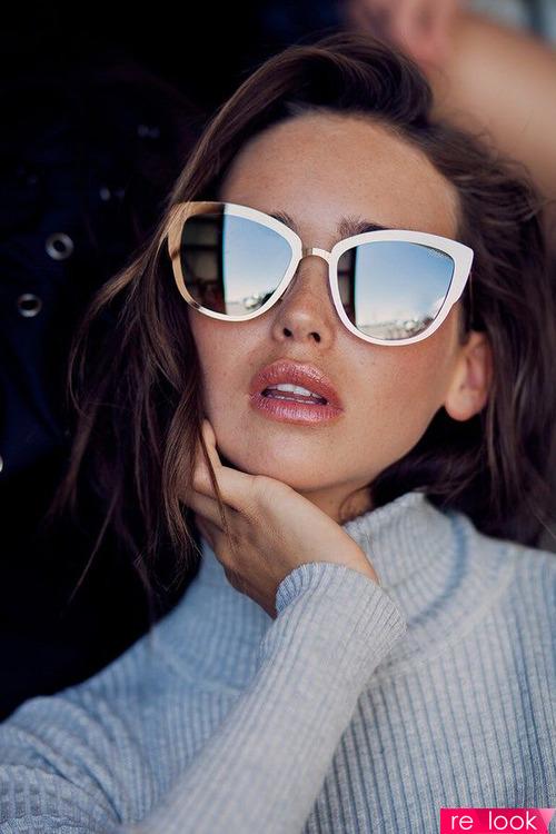 Мода 2018 - солнцезащитные очки