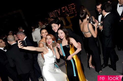 Самые «горячие» платья на вечеринке журнала Vanity Fair-2018