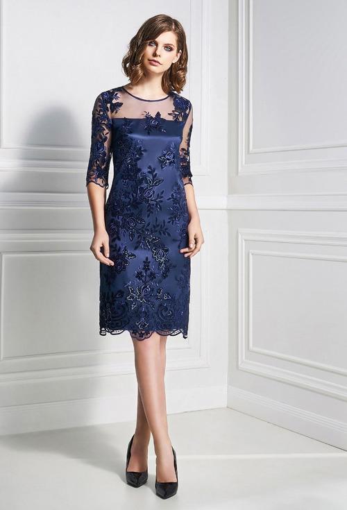 Новый год 2019 — праздничная коллекция женских платьев от бренда Bazalini