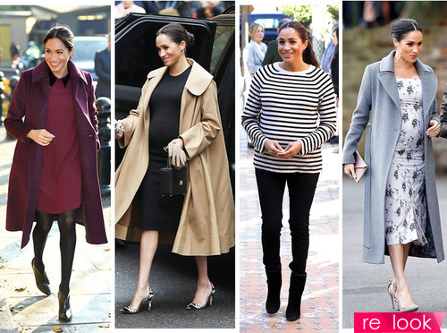 Модная беременность по-королевски на примере Меган Маркл