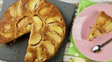 Имбирный яблочный пирог-перевёртыш