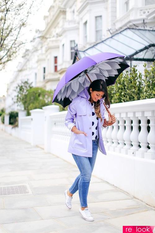 Летний дождь 2019: как одеться по моде в дождливую погоду