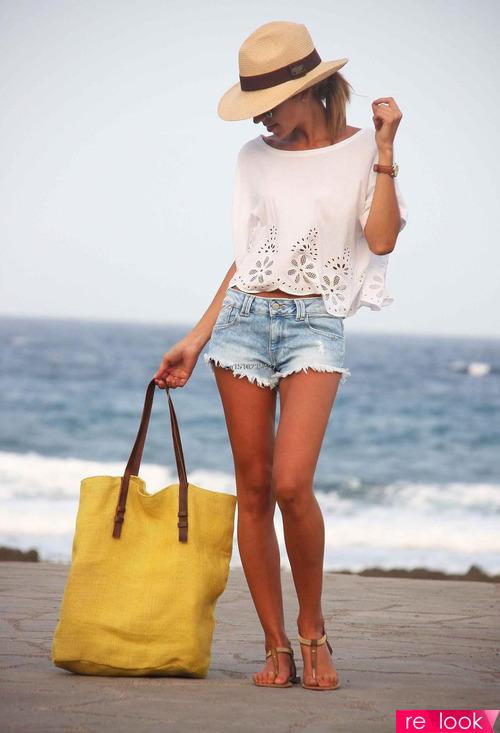Модные пляжные аксессуары и обувь 2019