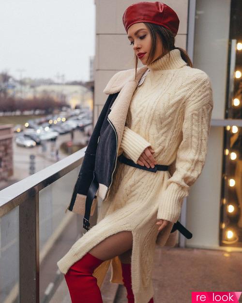Мода осени 2020: трикотажные платья