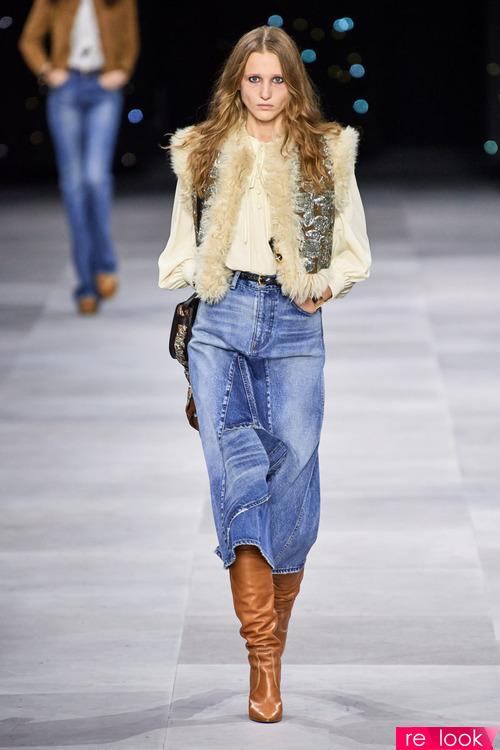 Мода весны и лета 2020: джинсовые юбки