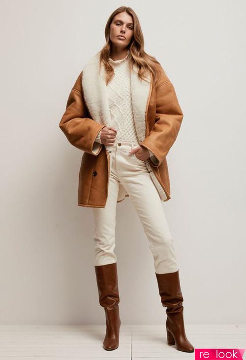 Модные дубленки зимы 2020-2021