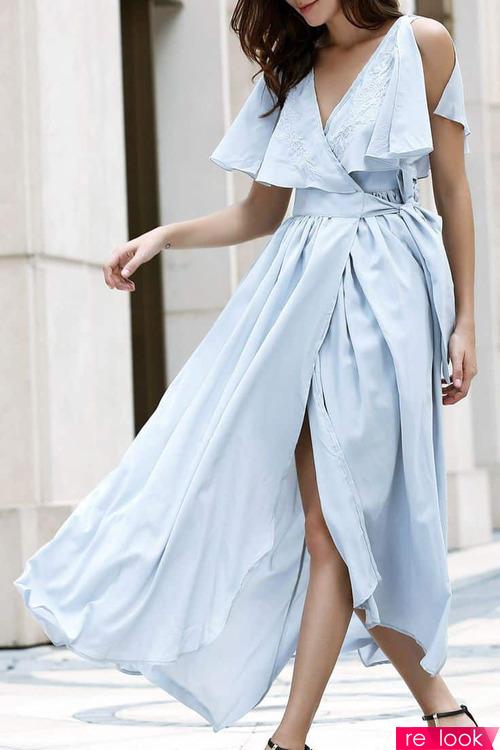 Самое модное платье 2020 года: платье на запах