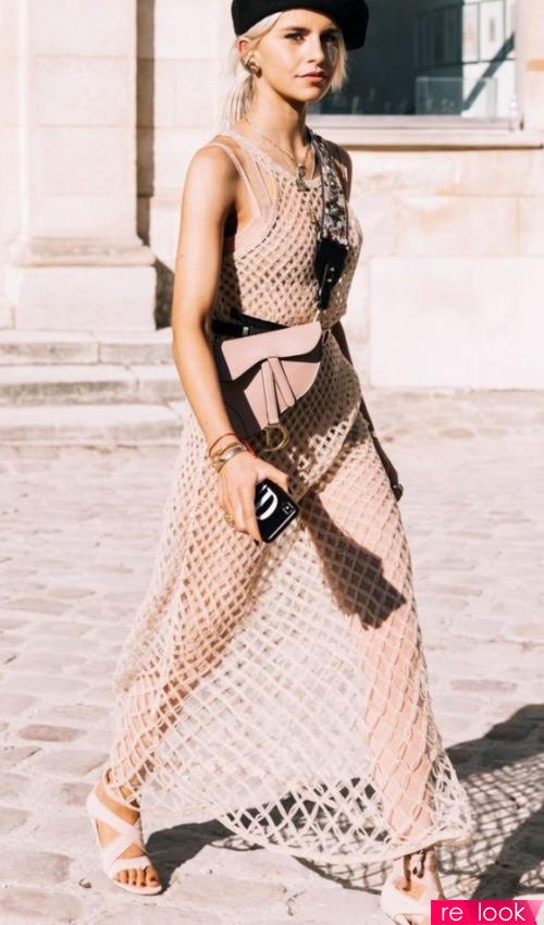 Сетка - смелый тренд моды лета 2021
