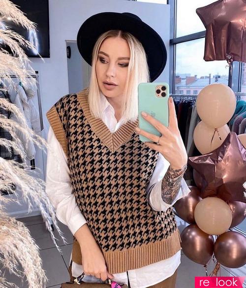 Тренд моды осени 2021: «дедушкин жилет»