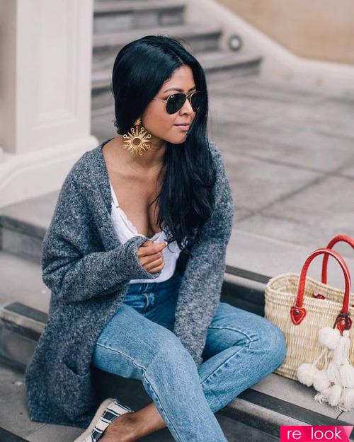 Тренд моды осени 2021: «бабушкин кардиган»