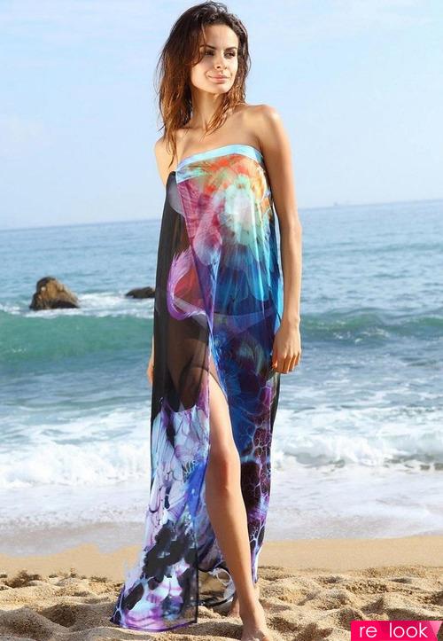 Важный элемент пляжной моды - парео
