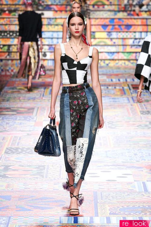 Модные джинсы весны и лета 2021
