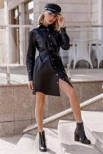 Мода осени и зимы 2021-2022: платье-рубашка